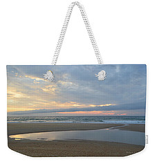 Weekender Tote Bag featuring the photograph Sunrise At Loggerhead by Barbara Ann Bell