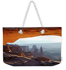Sunrise At Mesa Arch Weekender Tote Bag