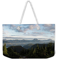 Sunrise At Mt St Benedict Weekender Tote Bag by Rod Wiens