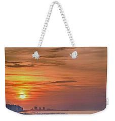 Sunrise At N. Myrtle  Weekender Tote Bag
