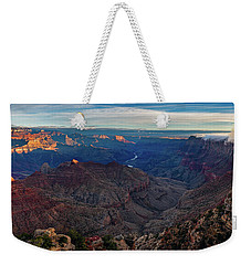 Weekender Tote Bag featuring the photograph Sunrise At Navajo Point by John Hight