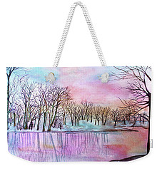 Sunrise At Sarah's Grove Weekender Tote Bag