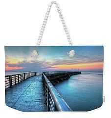 Sunrise At Sebastian Inlet Weekender Tote Bag