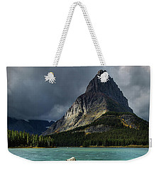 Sunrise At Swiftcurrent Lake Weekender Tote Bag