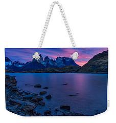 Sunrise At The Cuernos #2 - Patagonia Weekender Tote Bag