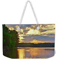 Sunrise At The Landing Weekender Tote Bag