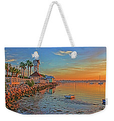 Sunrise At The Pier Weekender Tote Bag