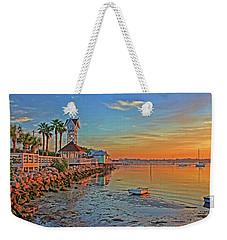 Sunrise At The Pier Weekender Tote Bag