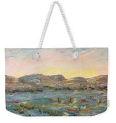 Sunrise At The Pond Weekender Tote Bag