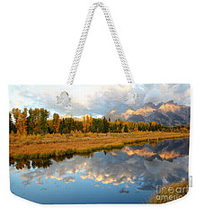 Sunrise At The Tetons Weekender Tote Bag
