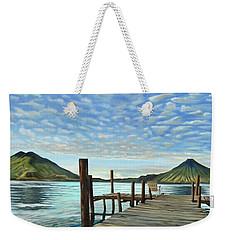 Sunrise At The Water Weekender Tote Bag