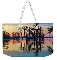 Sunrise, Bald Cypress Of Nc  Weekender Tote Bag
