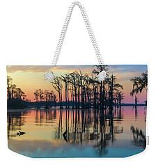 Sunrise, Bald Cypress Of Nc  Weekender Tote Bag