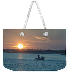 Sunrise Bassing Weekender Tote Bag