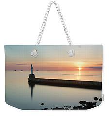 Sunrise Behind South Breakwater Weekender Tote Bag