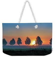 Sunrise Behind The Cedars Weekender Tote Bag