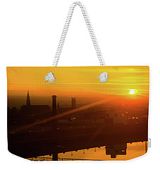 Sunset Belfast Weekender Tote Bag