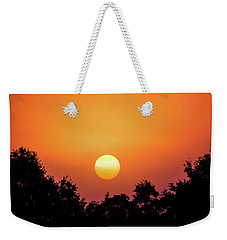 Weekender Tote Bag featuring the photograph Sunrise Bliss by Shelby Young
