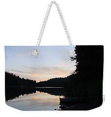 Sunrise Boat  Weekender Tote Bag