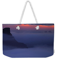 Sunrise Canyons And Clouds At Deadhorse Point State Park Weekender Tote Bag