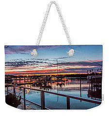 Sunrise Christmas Morning Weekender Tote Bag
