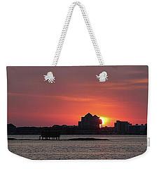 Sunrise Circles The Water Tower Weekender Tote Bag