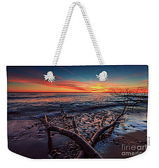Sunrise Crossing  Weekender Tote Bag