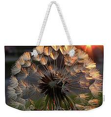 Sunrise Dandelion Weekender Tote Bag