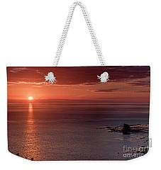 Sunrise Weekender Tote Bag by David  Hollingworth