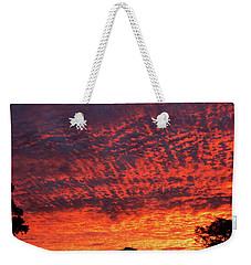Sunrise Eruption Weekender Tote Bag by Mark Blauhoefer