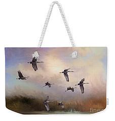 Sunrise Flight Weekender Tote Bag by Janice Rae Pariza