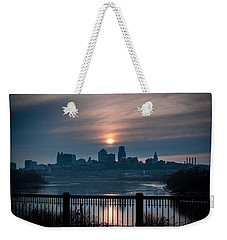 Sunrise From Kaw Point Weekender Tote Bag