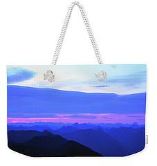 Sunrise From Pilchuck Summit Weekender Tote Bag