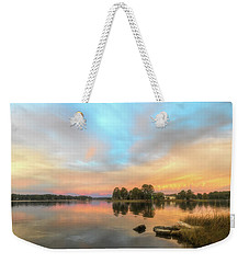 Sunrise, From The West Weekender Tote Bag