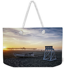 Sunrise In Avalon Weekender Tote Bag by Eduard Moldoveanu