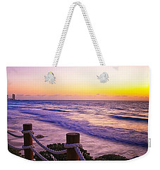 Sunrise In Cancun Weekender Tote Bag