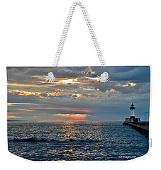 Sunrise In Duluth Weekender Tote Bag