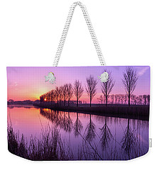 Sunrise In Holland Weekender Tote Bag