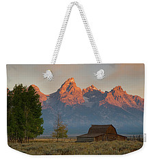 Sunrise In Jackson Hole Weekender Tote Bag