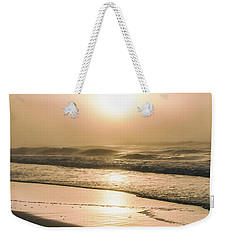 Weekender Tote Bag featuring the photograph Sunrise In Orange Beach  by John McGraw