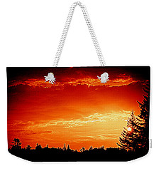 Sunrise In Southport Maine Weekender Tote Bag