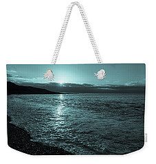 Sunrise In Stonehaven B-w Weekender Tote Bag
