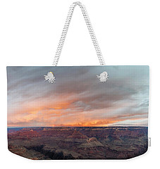Sunrise In The Canyon Weekender Tote Bag by Jon Glaser