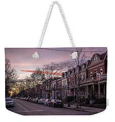 Sunrise In The Fan Weekender Tote Bag