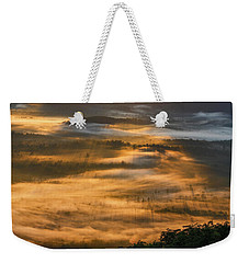 Sunrise In The Valley Weekender Tote Bag