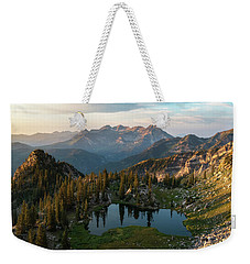 Sunrise In The Wasatch Weekender Tote Bag