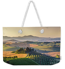 Sunrise In Tuscany Weekender Tote Bag by JR Photography