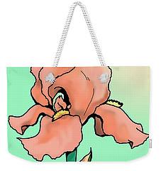 Sunrise Iris Weekender Tote Bag