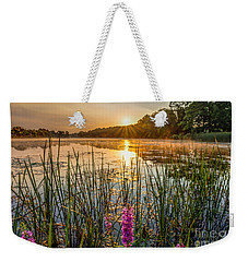 Sunrise Kent Lake Weekender Tote Bag