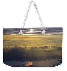 Sunrise From 30,000 Feet Weekender Tote Bag